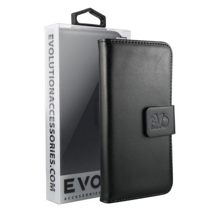 EVOLUTION Black  Book Case For iPhone 7