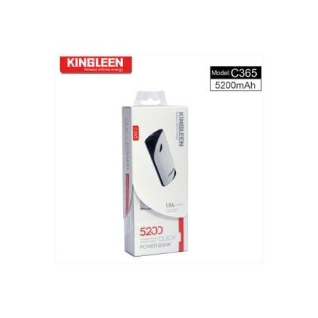 USB Power Bank Kingleen C365 - 5200mAh