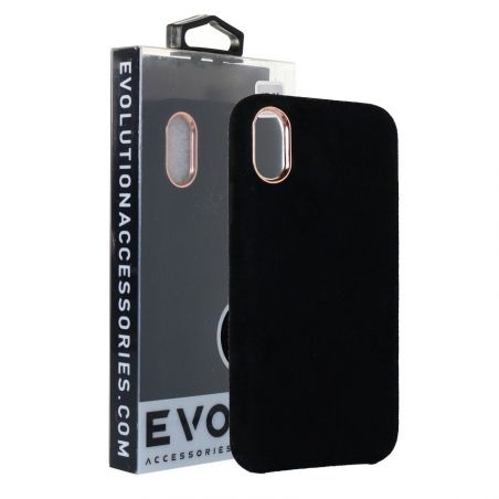 Evolution Black Plush Case For iPhone 6 and 6S