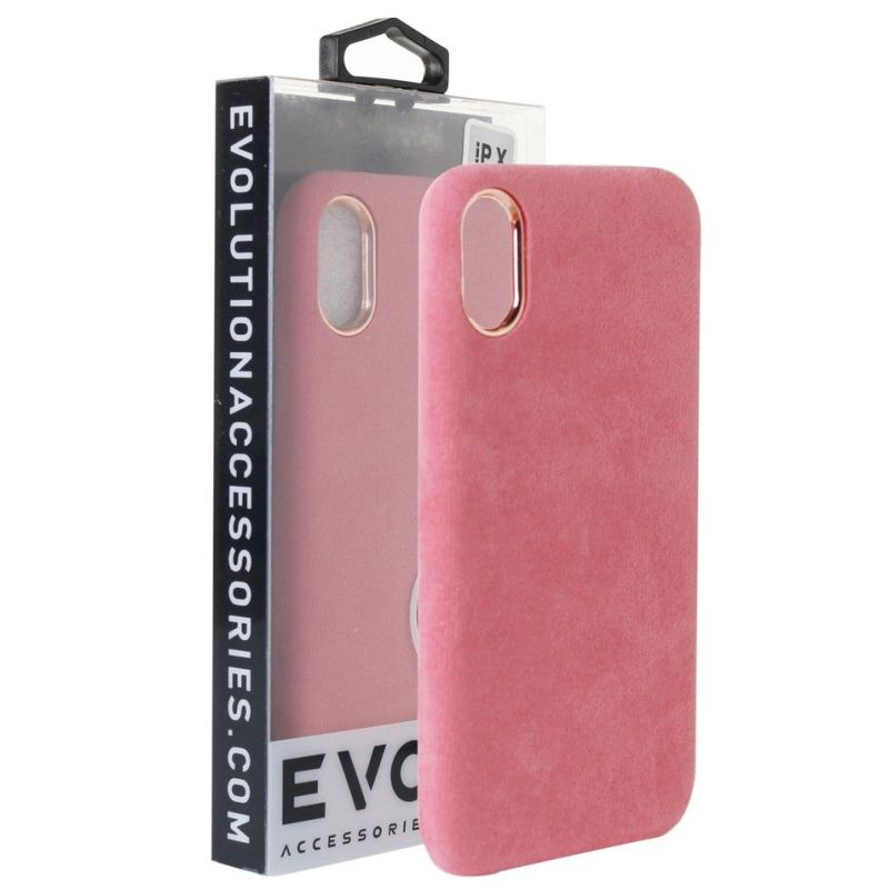 Evolution Black Plush Case For iPhone 6