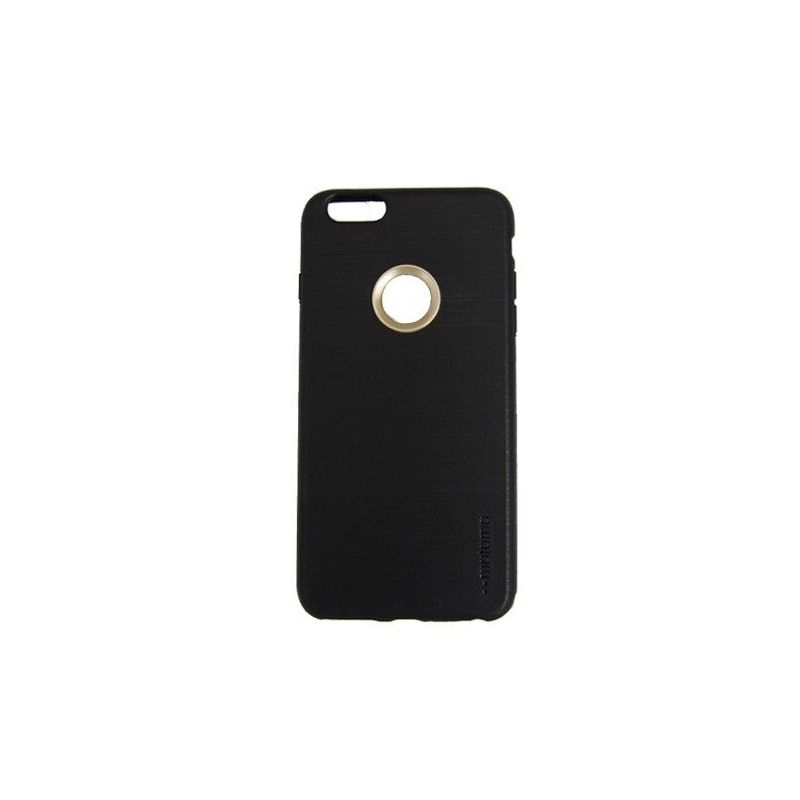 Motomo TPU Case For iPhone 6 Black Side View