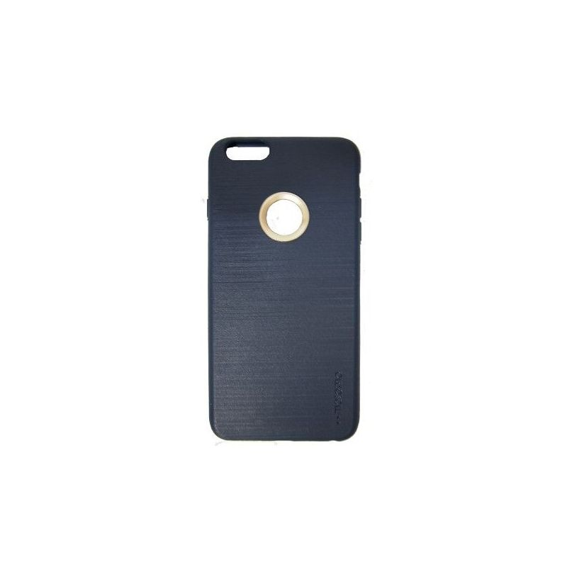 Motomo TPU Case For iPhone 6 Plus Blue Side View