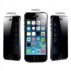 iPhone 5, 5S or 5C Anti-Spy Tempered Glass Screen Protector