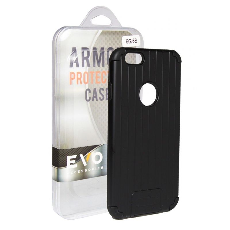 EVOLUTION Armor Case For iPhone 6 Plus and 6S Plus - Black