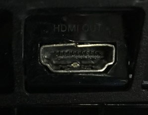 Broken PS4 HDMI port